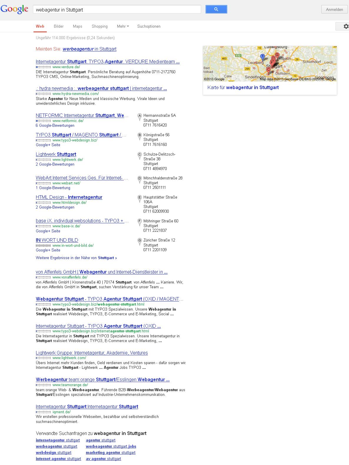 Darstellung-der-Suchergebnisse-nach-einer-Webagentur-in-Stuttgart